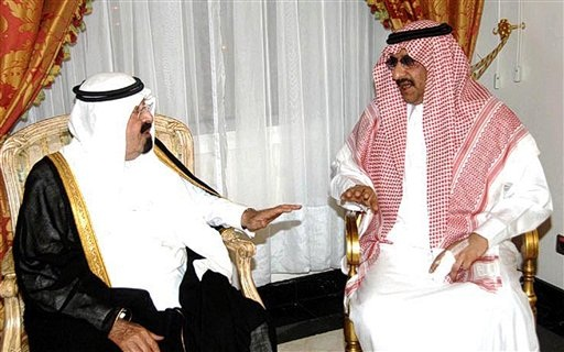 Saudi Prince Muhammad bin Nayef takes a break from washing the dishes to talk about the horrific injuries to his finger sustained at the hands of Abdullah Hassan al-Asiri