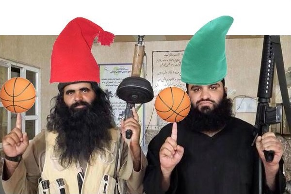 Abu Bakr al-Baghdadi the basketballer