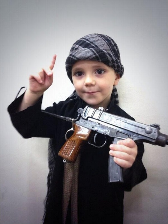 Jihadi child