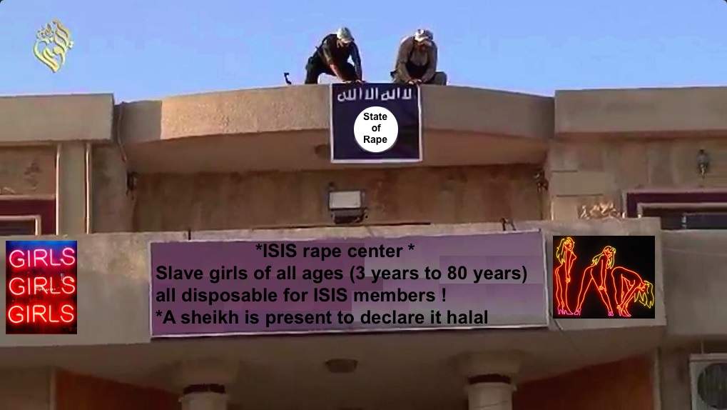 Jihadi state of rape